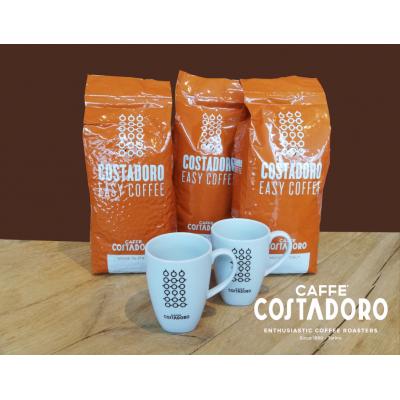 Actiepakket 3 kg easy koffiebonen + 2 mokken