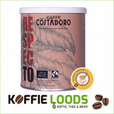 Costadoro Biologische & Fairtrade koffie 250 gram