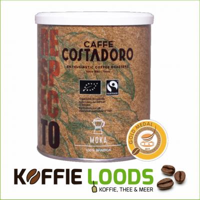 Costadoro Biologisch & Fairtrade Mokka 250 gram bonen