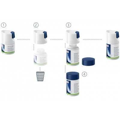Melksysteemreiniger (minitabletten) 90 g navulflesje -