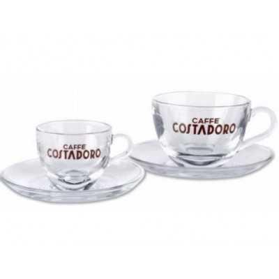 Costadoro espresso set glas 2 stuks