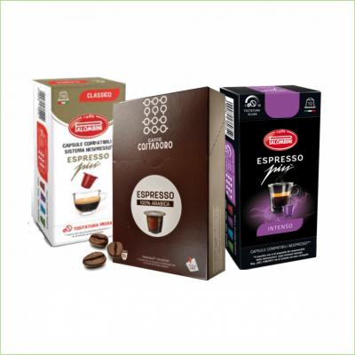 Proefpakket Nespresso capsules