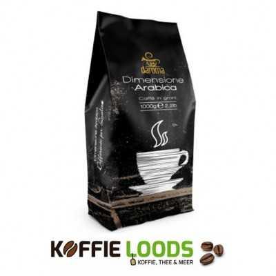 Daroma Dimensione Arabica koffiebonen 1 kilo