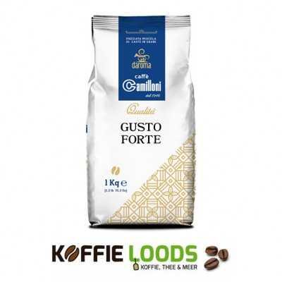 Camilloni Gusto Forte koffiebonen 1 kilo