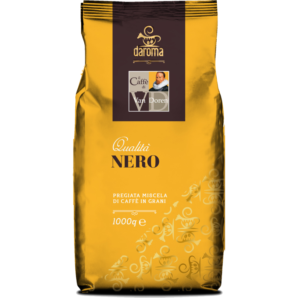 Caffe Van Doren Nero Forte Koffiebonen 1 kilo -