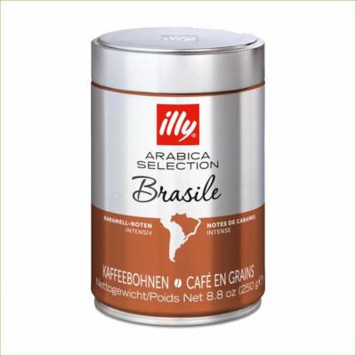 Illy brasil 250 gram koffiebonen 12 stuks