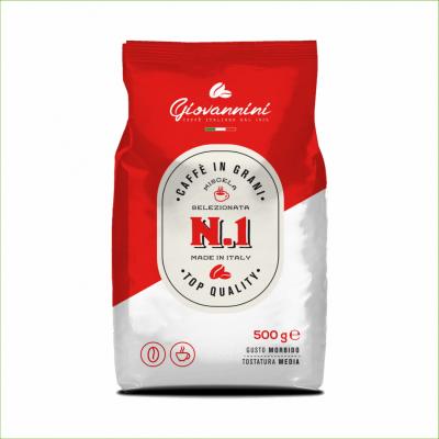 Giovannini Nr1 koffiebonen 500 gram