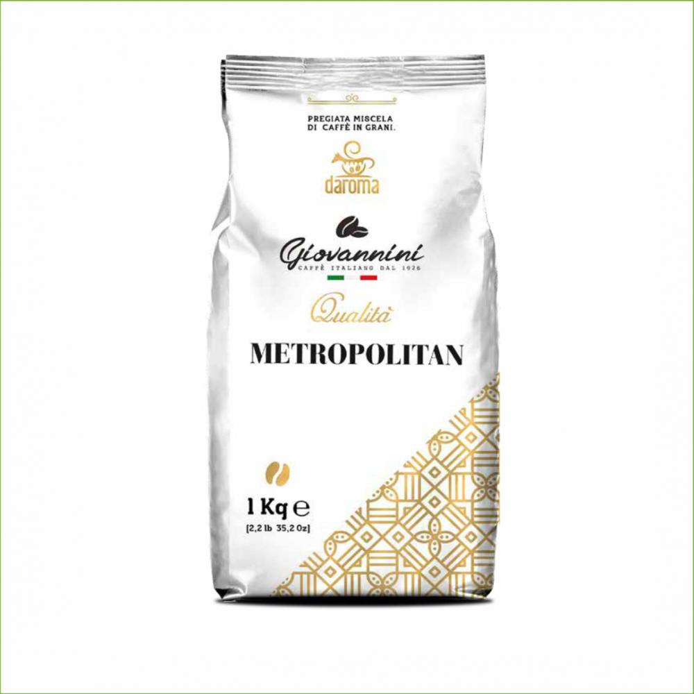 Giovannini Metropolitan koffiebonen 1 kilo -