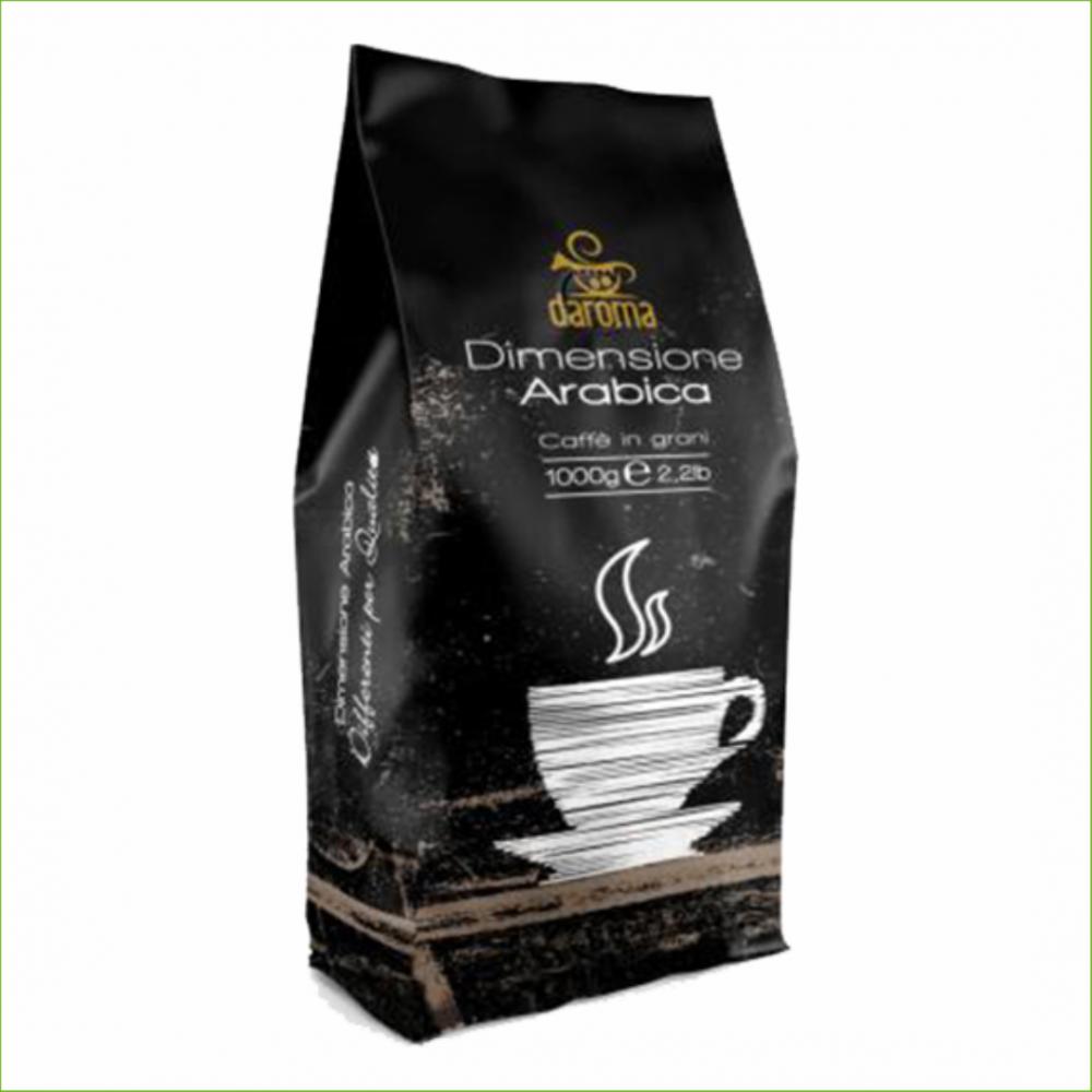 Daroma Dimensione Arabica koffiebonen 1 kilo -