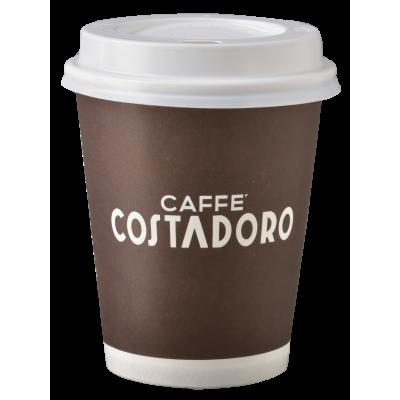Costadoro Koffie beker 180 cc  per 100 st.