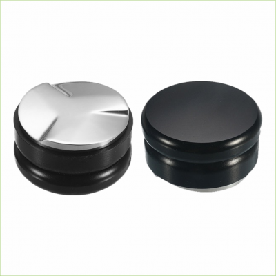 Koffietamper macaron 58mm zwart -