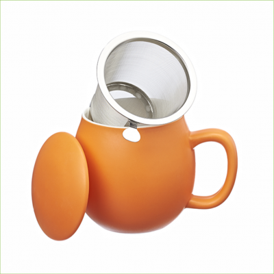 Theemok oranje + filter -