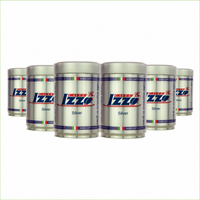 Izzo Silver koffiebonen 6 x 250 gram -