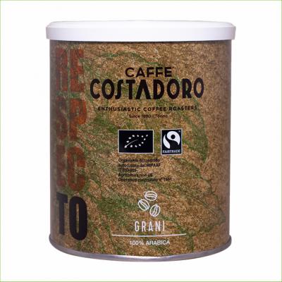 Costadoro Biologische & Fairtrade koffiebonen 250 gram -