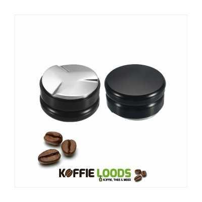 Koffietamper macaron 58mm zwart