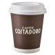Costadoro espressobeker 100 CC  100 stuks. -