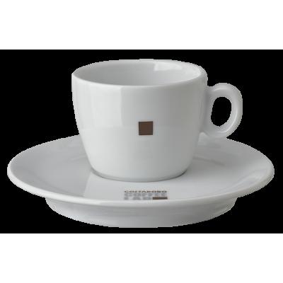 Coffeelab cappuccino kop en schotel