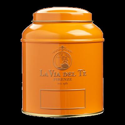 Theeblik la via del te 125 grams oranje