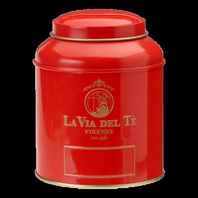Theeblik la via del te 125 grams rood