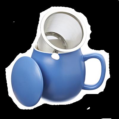 Theemok blauw + filter