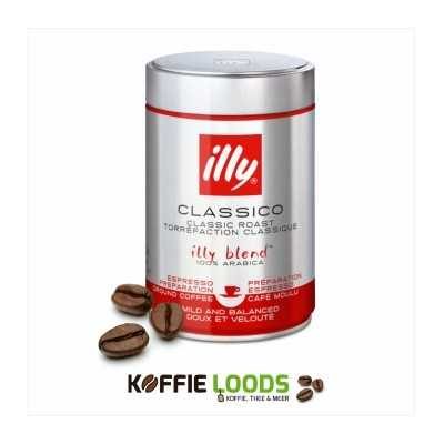 Illy classico 250 gram espresso maling 12 stuks