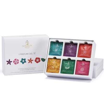Geschenkset de parfums van thee (30 stuks)