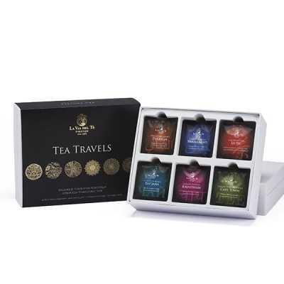 Tea Travels geschenkset (theezakjes)