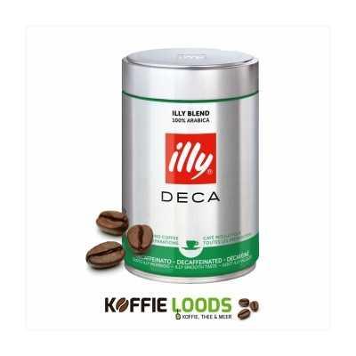Illy decafe gemalen koffie 250 gram 12 stuks