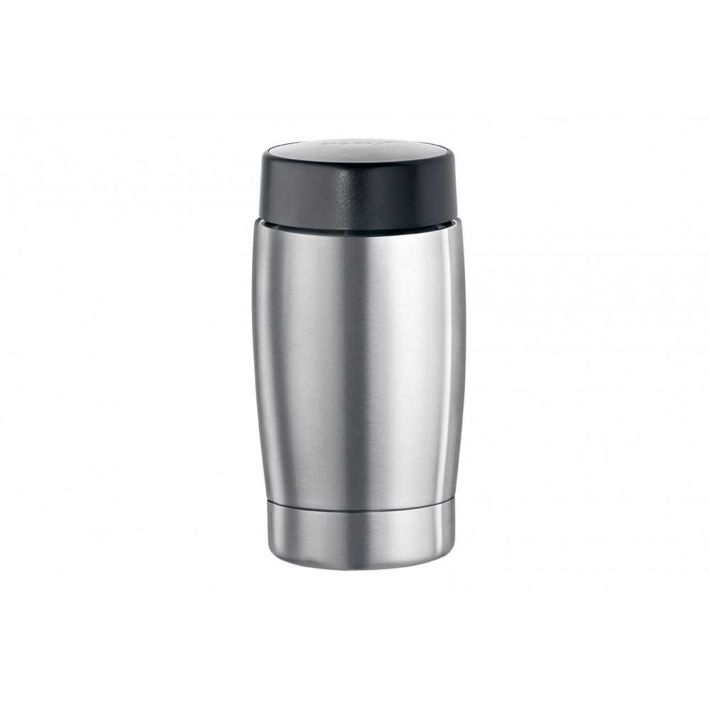 Roestvrijstalen isoleer-melkhouder 0,4 liter -