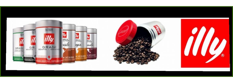 Illy koffiebonen kopen?|Koffie-loods.nl