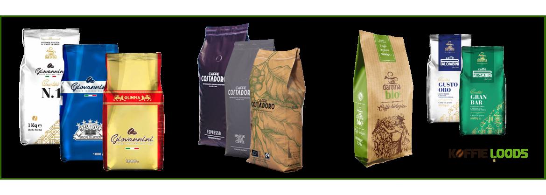 Koffiebonen Proefpakket kopen? | Koffie-loods.nl