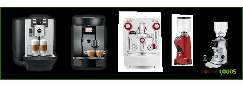 Koffiemachines kopen? | Koffie-loods.nl