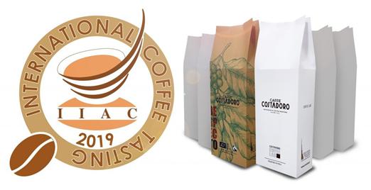 Costadoro medaille koffie