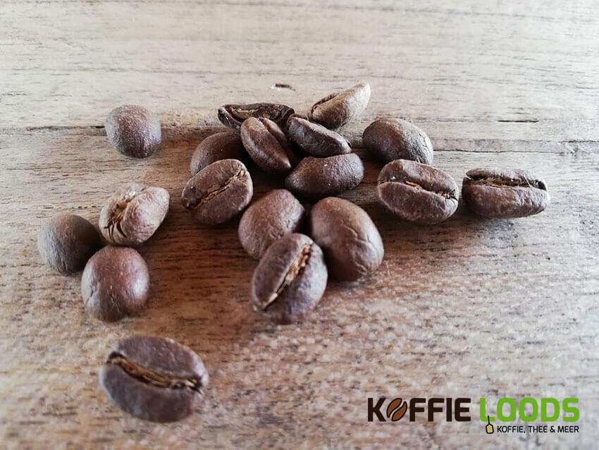 verse gebrande koffiebonen